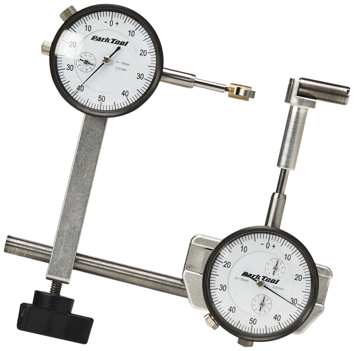 Park Tool Dial Indicator Gauge Set for TS-2.2 and TS-2 Truing Stands