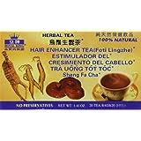 Royal King Hair Enhancer Herbal Tea with Fo-ti and Lingzhe - 20 Tea Bags