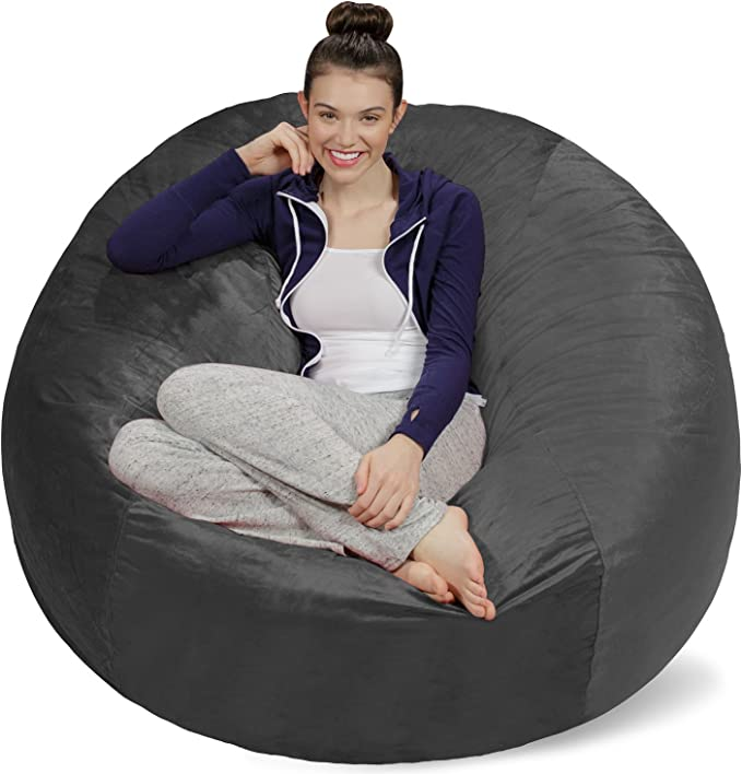 Plush Ultra Soft Bean Bags Chairs for Kids, Teens, Adults