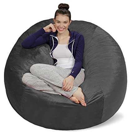 Image result for Sofa Sack- Plush Ultra Soft Bean Bags Chairs for Kids, Teens, Adults