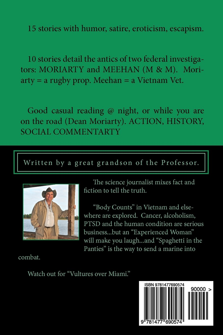 Buy Professor Moriarty's Short Stories: Written by a Great