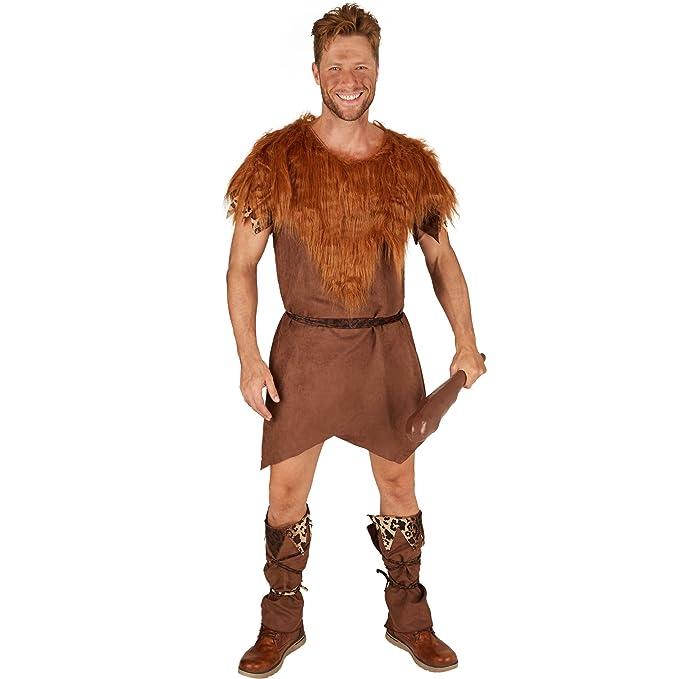 TecTake dressforfun Disfraz para Hombre Edad de Piedra | Atuendo ...
