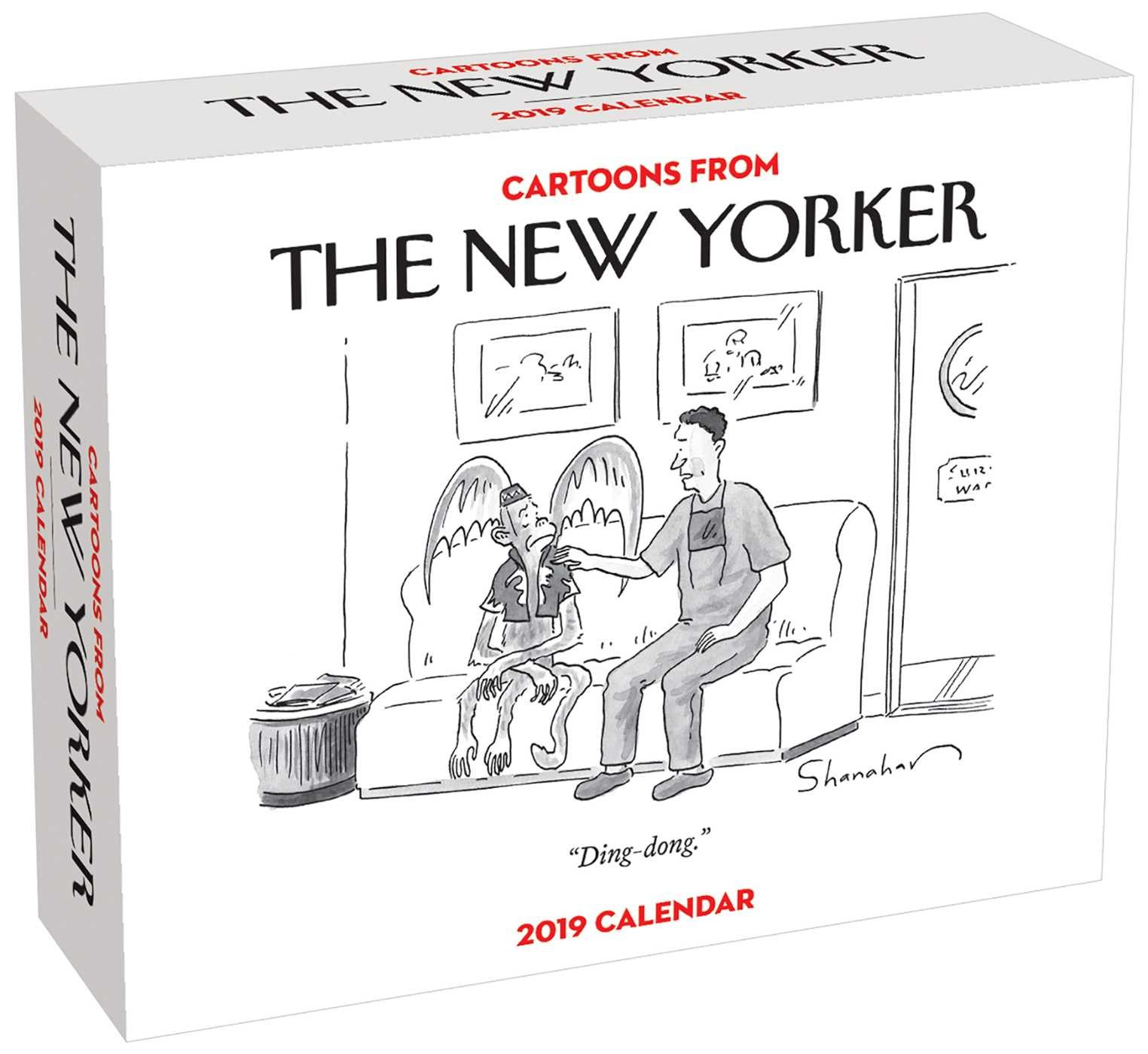 cartoons from the new yorker 2019 day to day calendar
