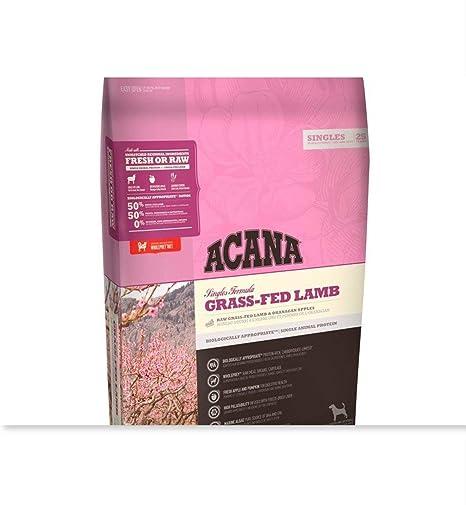 Amazon Com Acana Singles Lamb And Apple Formula 13 Pound Bag Pet