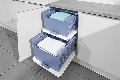 Hailo Laundry Area Einbau Wäscheschrank System Hauswitschaft