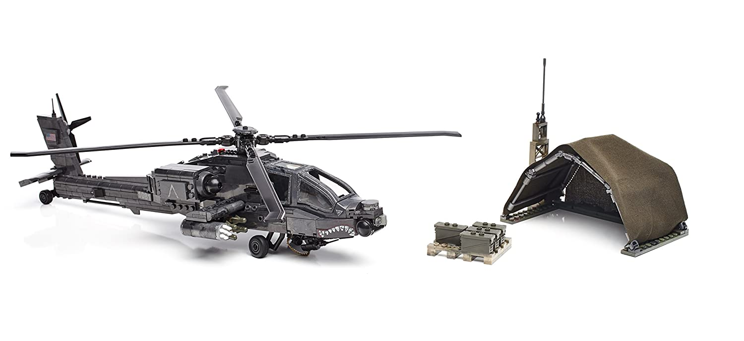 Amazon.com: Mega Bloks Call of Duty Anti-Armor Helicopter Collector  Construction Set: Toys & Games