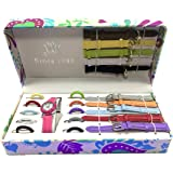 Batu Lee Analog 11 Multicolor White Dial Changeable Strap Girl's Watch