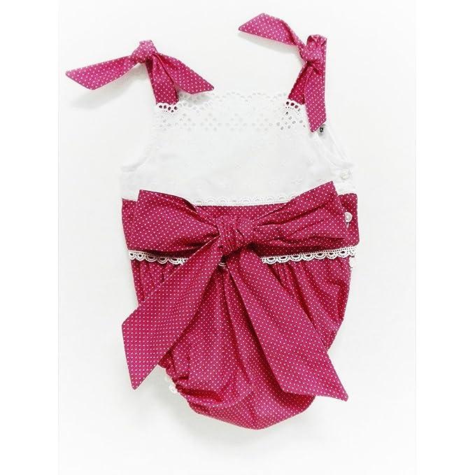Ranita bebé niña RECUERDO _ vestido bebe niña rosa, vestido bebe verano, ranita bebe rosa: Amazon.es: Ropa y accesorios