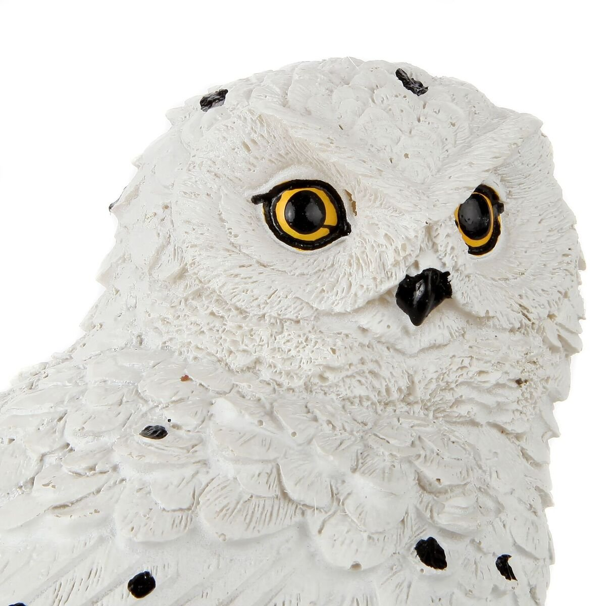Trenton Gifts Weather Resistant Outdoor LED Solar Owl Light, Garden Stake | White by Trenton Gifts (Image #6)