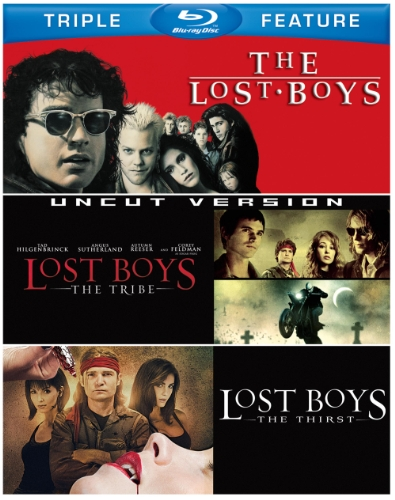 Blu-ray : The Lost Boys / Lost Boys: The Tribe / Lost Boys: The Thirst (3 Disc)