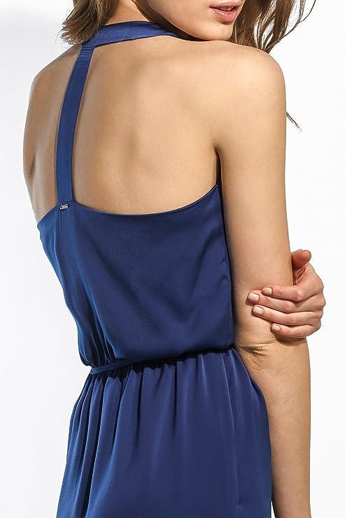 Fontana es Talla Mujer Salsa Klein Azul Color Vestido l Amazon zxAP4