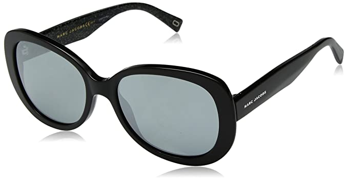 b86449fe699 Image Unavailable. Image not available for. Color  Marc Jacobs Women s  Marc261s Oval Sunglasses ...