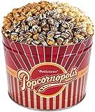 Popcornopolis Gourmet Popcorn 2 Gallon Tin - Premium