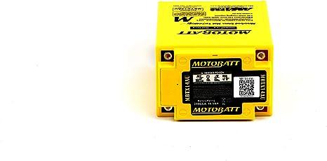 Mbtx14au Motobatt Quadflex Agm Bike Batterie 12v 16ah Auto