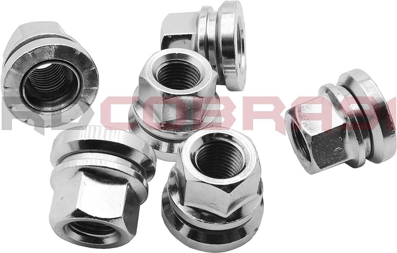 RdCobra91 2003-2020 F250 F350 Excursion Super Duty Chrome Factory Wheel Lug Nuts OEM Stlye Factory Wheels Only