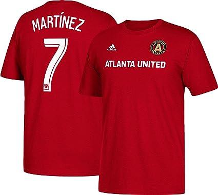 cheaper 81605 bc8f5 adidas Josef Martinez Atlanta United Men Player T-Shirt Red (Small)