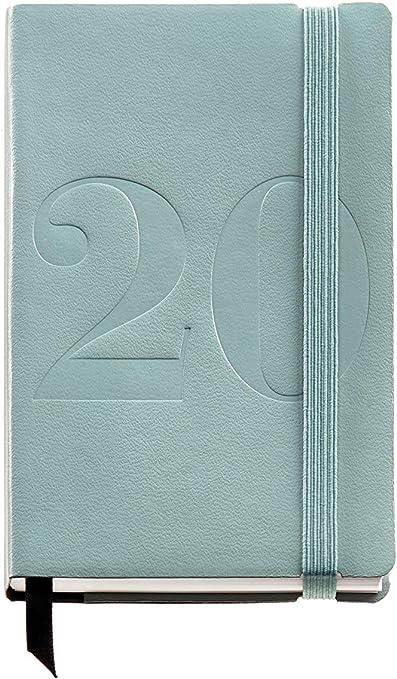 Miquelrius 31804 - Agenda 2020, Día Página (90 x 140 mm), de bolsillo, Minimal Verde, Catalán: Amazon.es: Oficina y papelería