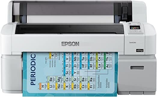 Epson SureColor SC-T3200 w/o stand - Impresora de gran formato (2880 x 1440 DPI, Inyección de tinta, ESC/P-R,HP-GL/2,HP-RTL,PostScript 3, Cian, Magenta, Negro mate, Foto negro, Amarillo, A1 (594 x 841 mm), 0.08 -