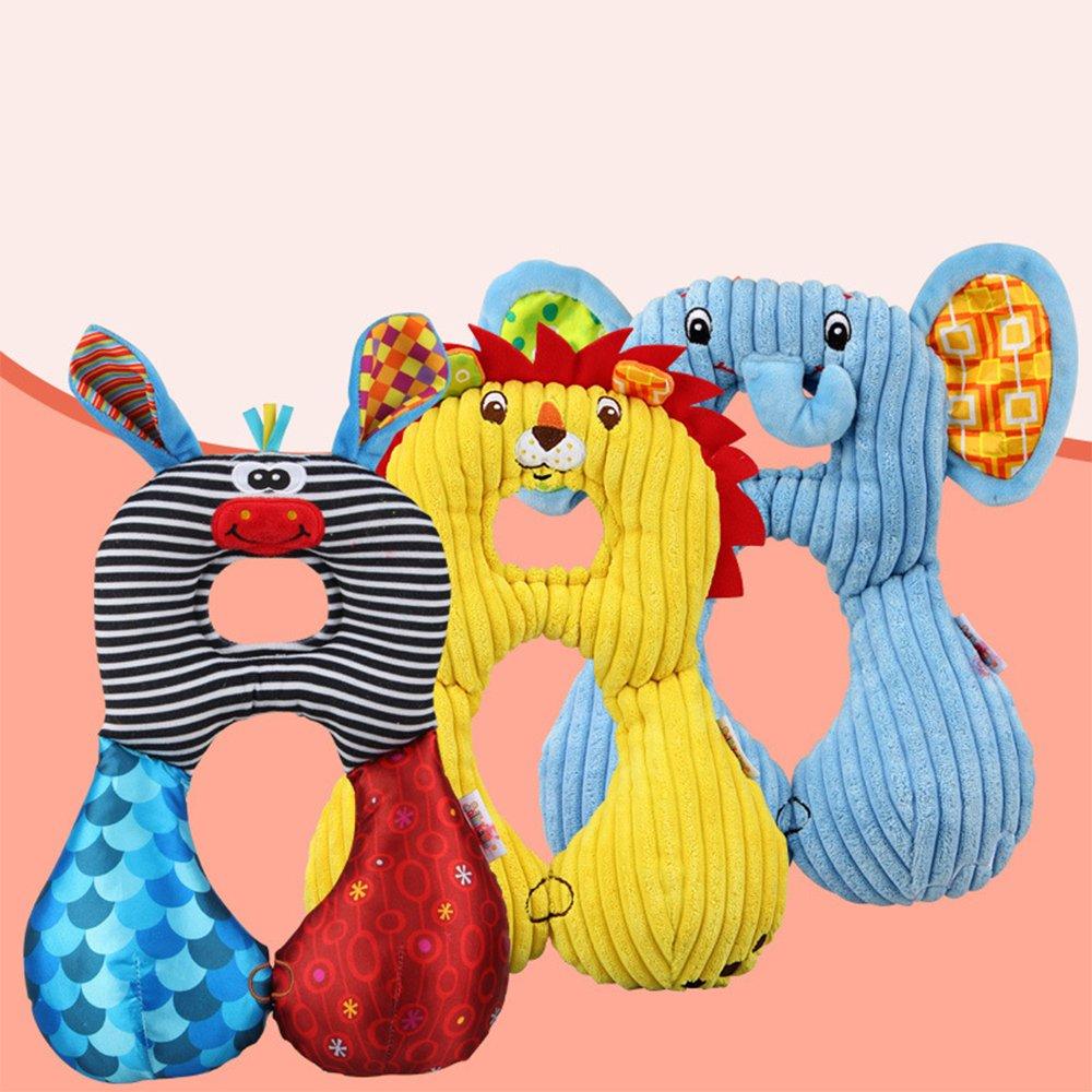 Festnight Baby Kid Toddlers Cuscino a Forma di U Morbido Cartone Animato Viaggi Car Safety Seat Neck Supporto Cuscino poggiatesta Cuscino per 1-6 Anni Cane