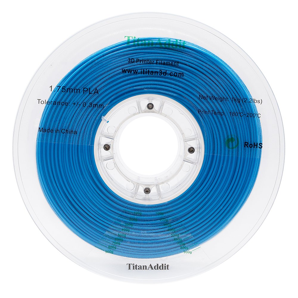 TitanAddit 1 kg de filamento de impresora 3D de 1,75 mm, ± 0,03 mm ...
