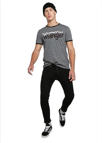 Wrangler Logo tee Camiseta para Hombre: Amazon.es: Ropa y accesorios
