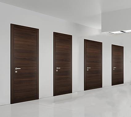 Planum 0010 Interior Door Chocolate Ash 32 X 80 With Handle Lock