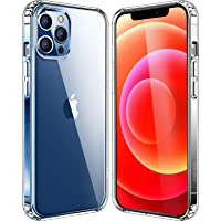 Amazon Price History:Mkeke Compatible with iPhone 12 Case, iPhone 12 Pro Case Clear 6.1 Inch 2020