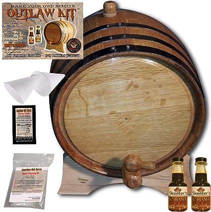 Amazon com: Barrel Aged Cognac Making Kit - Create Your Own