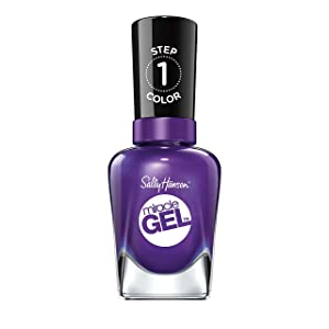 Sally Hansen Miracle Gel Nail Polish, Purplexed, 0.5 Ounce