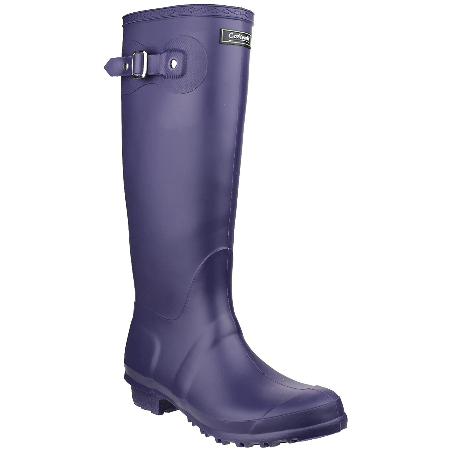 Cotswold Sandringham Buckle-Up Womens Wellington Boots B00BT4UIUS 6 M US|Purple