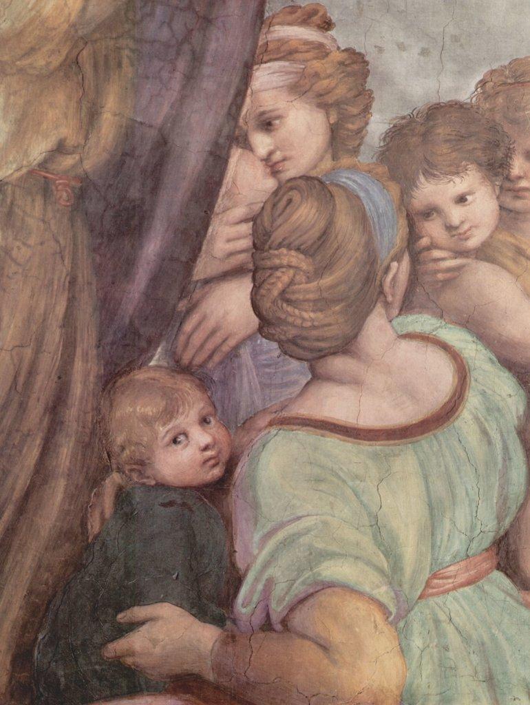 Lais Puzzle Raffael Raffael Raffael - Stanza di Eliodoro im Vatikan für Papst Julius II., Wandfresko, Messe von Bolsena, Detail 2000 Teile 8fdc80