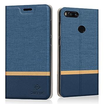 RIFFUE Funda Xiaomi Mi A1, Carcasa Delgada Libro de Cuero con Tapa Cartera de Ranura y Billetera Elegante Case Cover para Xiaomi Mi A1/Xiaomi Mi 5X ...