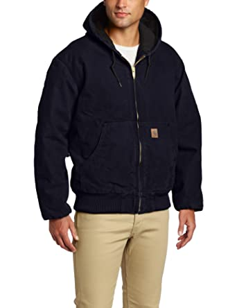Amazon.com: Carhartt Men's Quilted Flannel Lined Sandstone Active ... : carhartt quilt lined jacket - Adamdwight.com