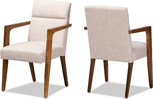 Baxton Studio Set of 2 173-11304-AMZ Lounge Chair