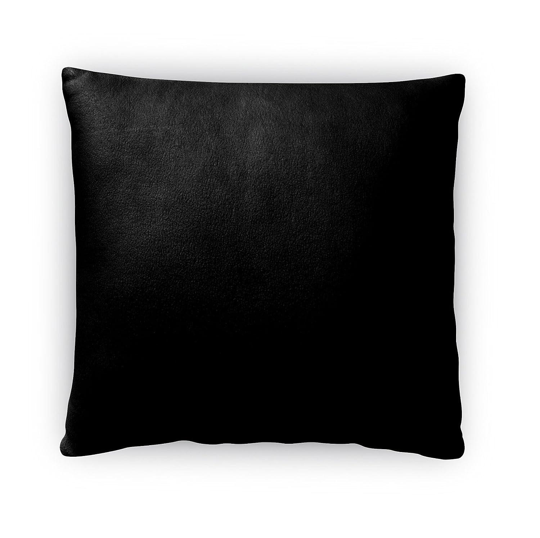 - Ivory//Black Size: 18X18X4 - TELAVC137FBS18 KAVKA Designs Good Morning Gorgeous Fleece Throw Pillow,