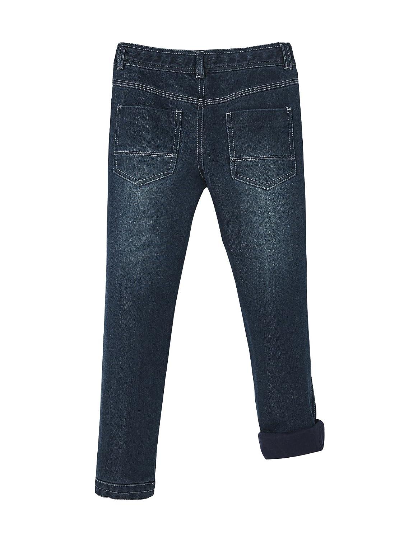 Vertbaudet Robuste Jeans f/ür Jungen gef/üttert