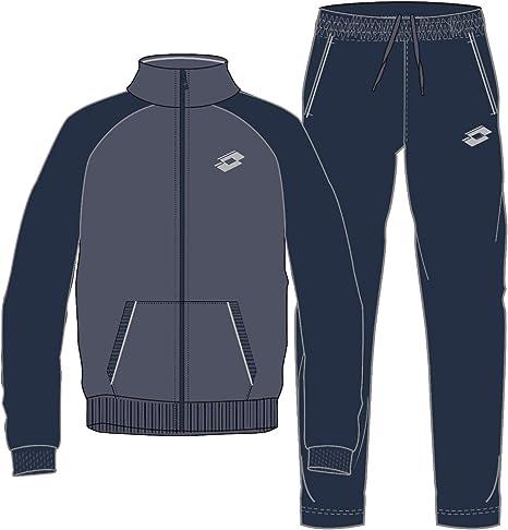 Lotto Mason Vi Suit JS - Chándal, Hombre, Azul(BLU PWD/NVY ...
