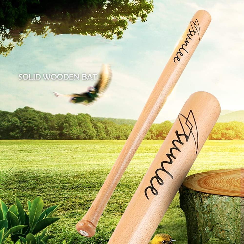 25 IDE Con Massivholz-Holz-Baseball 33 29 Naturholzbaseballschl/äger Sport 21