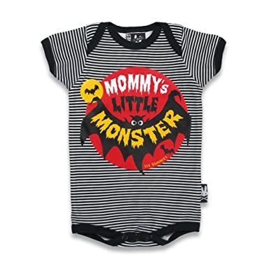 df7296a94 Six Bunnies Mommys Little Monster Babygrow  Amazon.co.uk  Clothing
