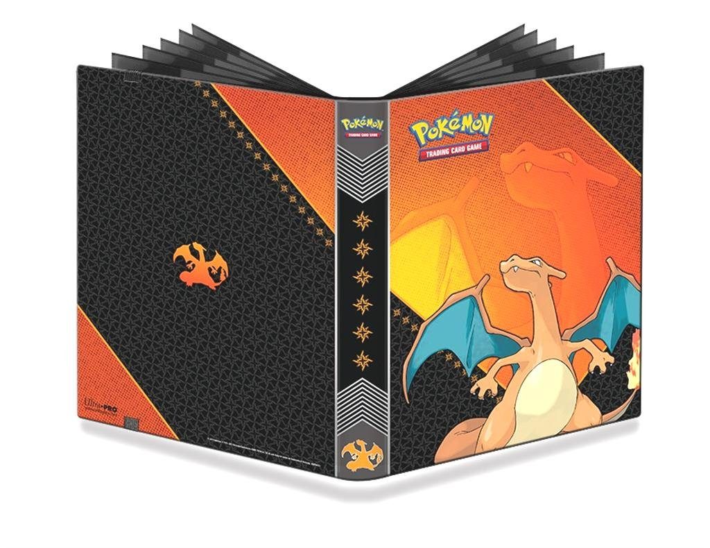 Ultra Pro Pokemon: Charizard 9-Pocket Full-View PRO Binder Flat River Group 84632
