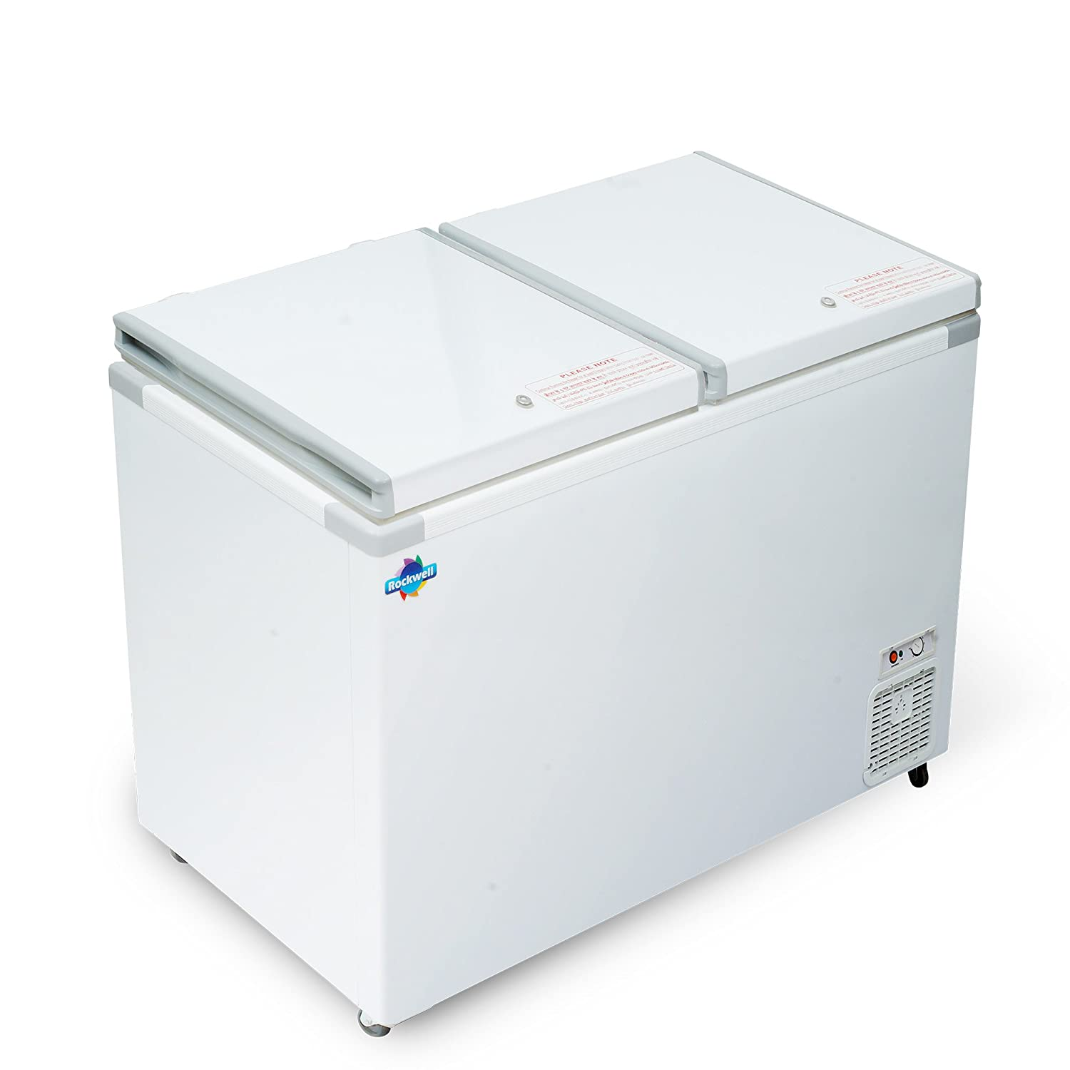 Rockwell Chest Freezer Double Door Hard Top 550 Liters