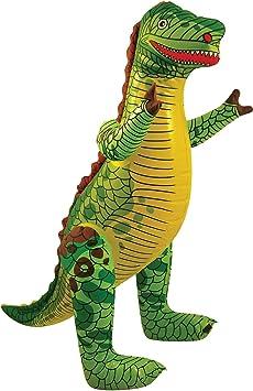 Dinosaurio Inflable Los 76cm: Amazon.es: Juguetes y juegos