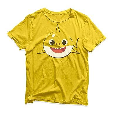 077152519 Baby Shark Doo Family Kids Mens Womens Cute PINKFONG Animal Song Funny T- Shirts: Amazon.co.uk: Clothing