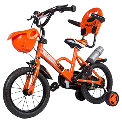 07707959a5f Baybee Thunder Freestyle Kids Bike   Boys Bikes and Girls Bikes with  Training Wheels and Basket