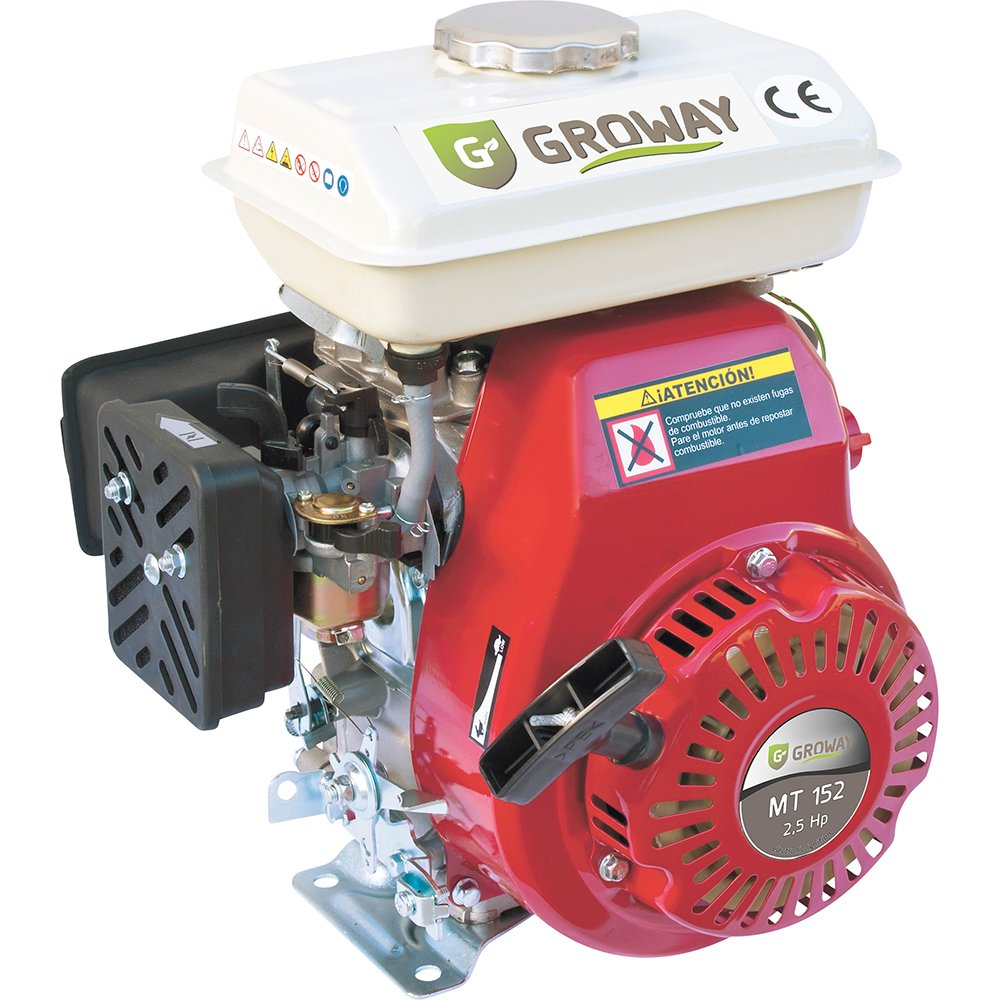 groway mt-152–4T 97CC Benzin Motor, 2.5HP, Achse 15x 50mm