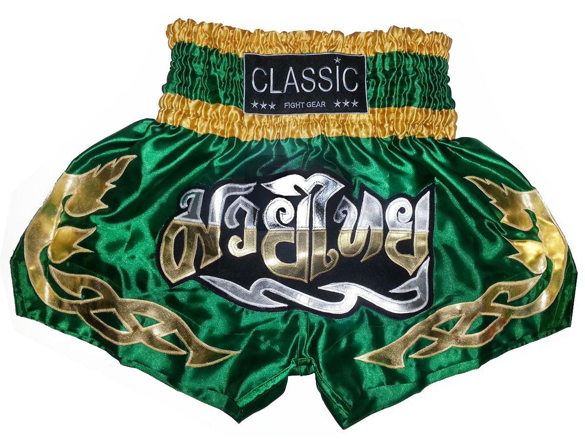 Classic Muay Thai Box Hose, Thaishort Thaiboxhosen : CLS-008