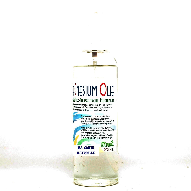 Magnesio Aceite (uso externo) Spray - 200 ml: Amazon.es: Salud y cuidado personal