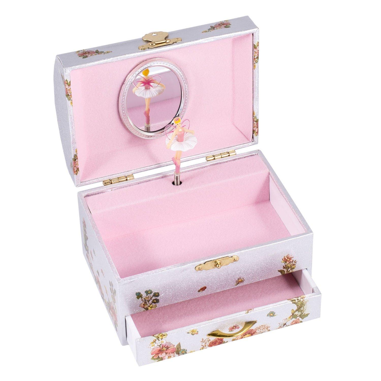 Amazoncom Childrens Musical Jewelry Music Box Spinning Ballerina