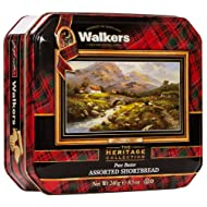 Walkers Shortbread Assorted Path To The Hills Tins, 8.5 Ounces, (Pack of 2)