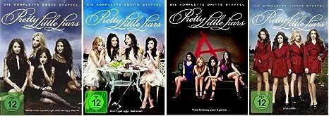 Pretty Little Liars - Staffel/Season 1+2+3+4 * DVD Set